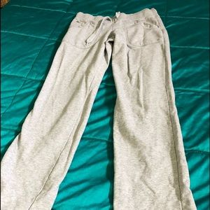 Lacoste grey lounging pants.